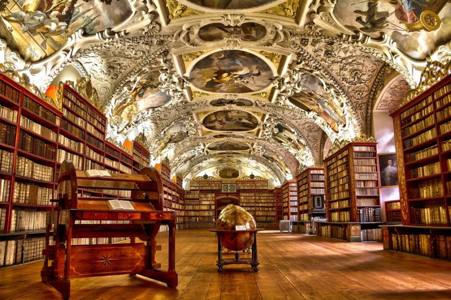 Αποτέλεσμα εικόνας για prague library
